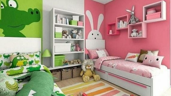 Tips Rumah Minimalis, Menata Kamar Tidur Anak dan Pilihan Warna Cat